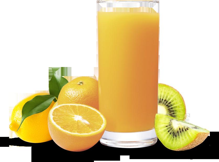 Zumo de frutas cítricas